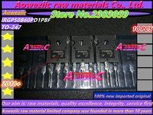 Aoweziic 2018 + 100% novo importado original irgp50b60pd1pbf irgp50b60pd1 gp50b60pd1 para 247 igbt efeito de campo transistor 75a 600 v