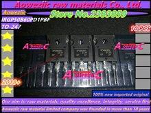Aoweziic 2018 + 100% nowy importowany oryginalny IRGP50B60PD1PBF IRGP50B60PD1 GP50B60PD1 TO 247 IGBT tranzystor polowy 75A 600V