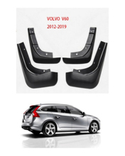 Car Mud-Flap Mudguards Set  For VOLVO V60  2012-2019 Splash Guards Mudflaps Mud Car Fenders цена в Москве и Питере
