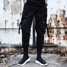 2019 Pockets Cargo Pants Men Fashion Summer New Design Casual Pants Tactical Trousers Tide Harajuku Streetwear Wholesale