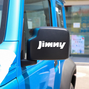 Car Stickers and Decals for Suzuki Jimny Car Rearview Mirror Sticker for Women Funny Exterior Accessories image