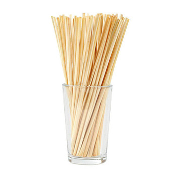 Natural Wheat Straw 100% biodegradable Straws Environmentally Friendly Portable Drinking Straw Bar Kitchen Accessories 1PC image