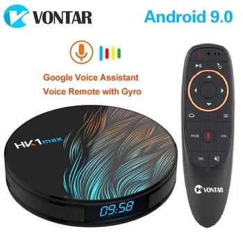 2020 Smart TV Box Android 9 9.0 HK1 Max 4GB 128GB Rockchip 4K TVBOX Youtube Wifi Android TV Set top Box Media player