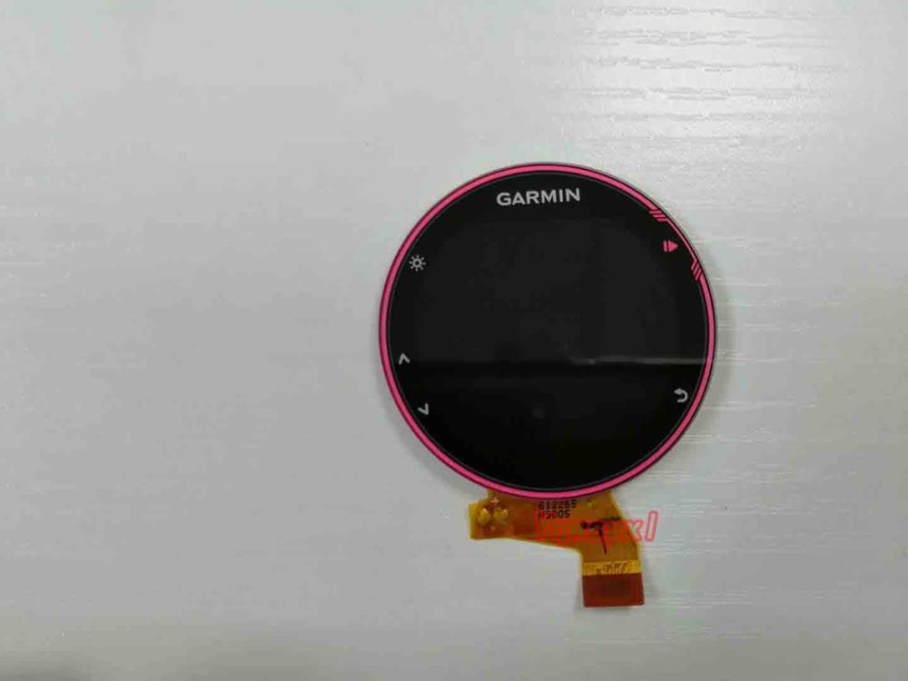 Yqwsyxl Original Front Case LCD Display Screen For GARMIN FORERUNNER 735 735XT GPS Multisport Running Sports Watch Repair Part
