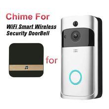 Timbre inteligente inalámbrico con WiFi, timbre de puerta con cámara de 2020 GHz, videocámara, intercomunicador PIR, seguridad, 2,4
