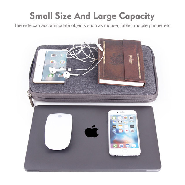 Waterproof Laptop Bag 11 12 16 13 15 inch Case For MacBook Air Pro 2018 2019 Mac Book Computer Fabric Sleeve Cover Accessories