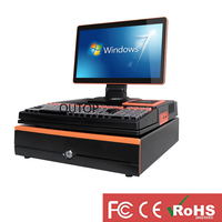 WIFI 15.6 Capacitive Touch Screen Cash Register POS Machine with Printer All in One POS Terminal system