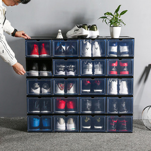 Plastic Shoe Box Transparent S