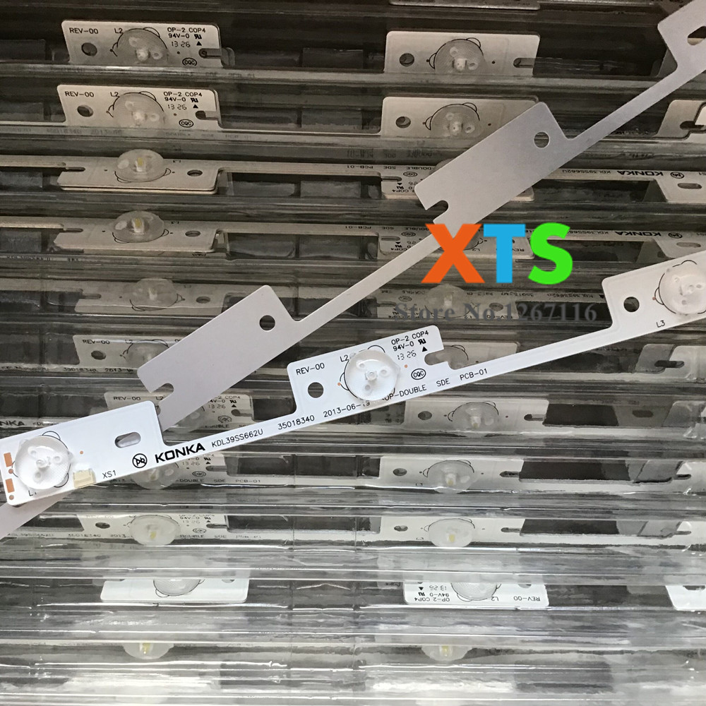 Image 3 - Aluminum 100 Pieces*4 LEDs*6V 327mm LED backlight bar for TV KDL39SS662U 35018339 KDL40SS662U 35019864 NEW-in Light Beads from Lights & Lighting