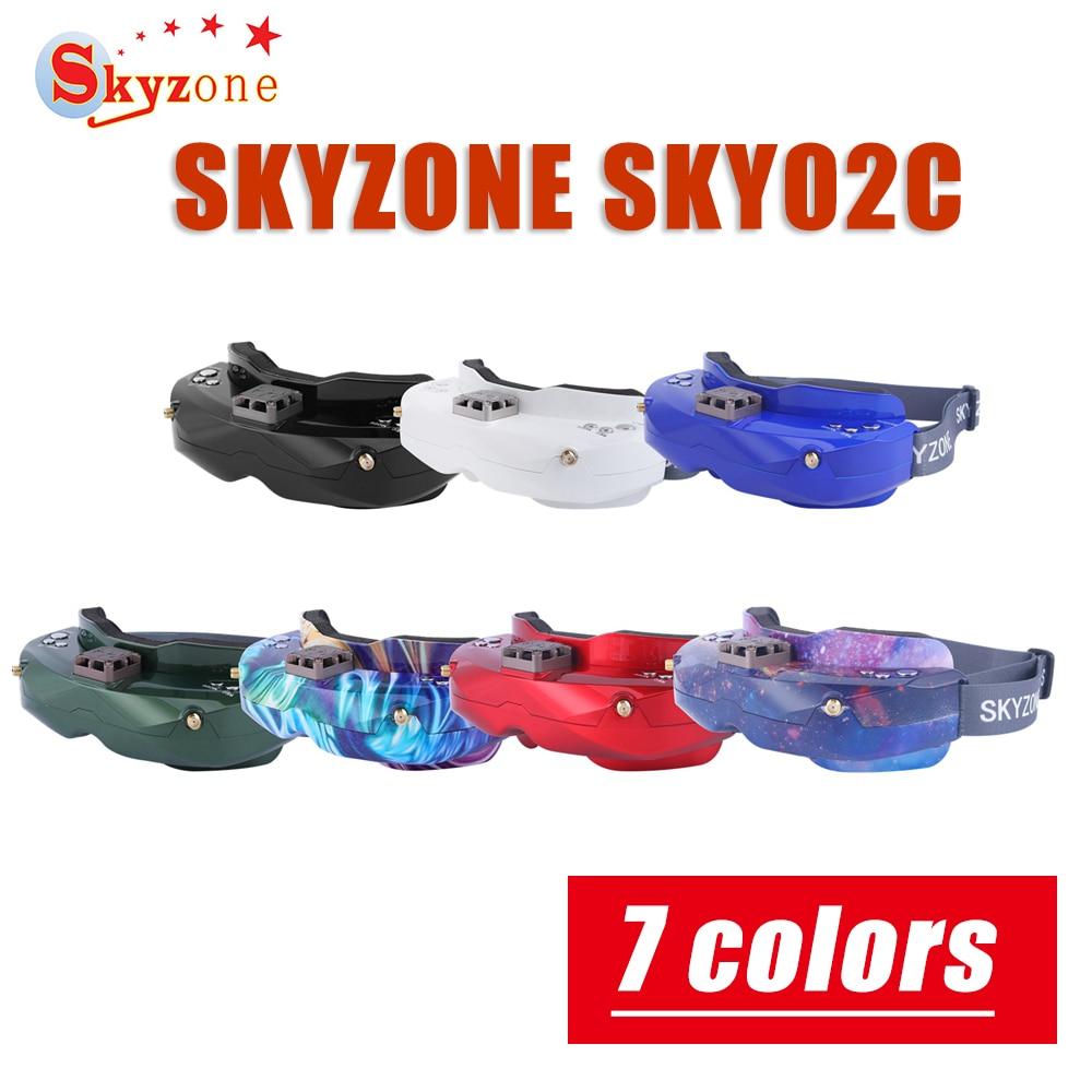SKYZONE SKY02C 5.8Ghz 48CH Diversità FPV Occhiali di Sostegno DVR HDMI & Testa Tracker Ventilatore Per RC Racing Drone di Ricambio parti