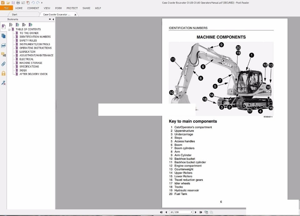 Case Crawler Excavators Service Manual Operators Manual Schematic Full Dvd Service Manual Operation Manualoperating Excavator Aliexpress
