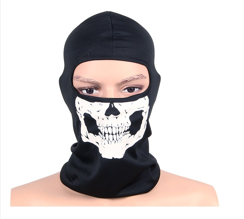 Beanies Motorcycle Ghost Skull Face Mask Sport Warm Ski Caps Bicyle Bike Neck Warmer Balaclavas Scarf Full Face Mask