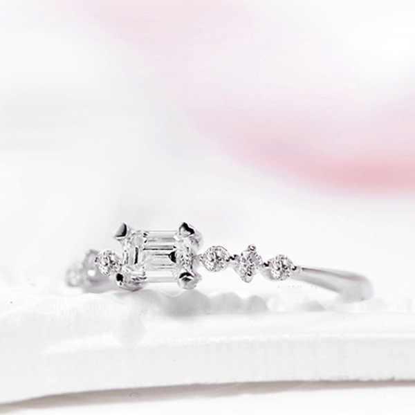 אופנה Ringwedding טבעות נשים טבעות יוקרה מותג אהבת טבעת אירוסין טבעות בנות טבעות אירוסין טבעת נשים תכשיטים