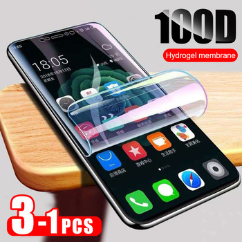 ZNP 3PCS Full Cover Hydrogel Film For Xiaomi Redmi Note 5 7 8 Pro 5 Plus Screen Protector For Redmi 8 8A 7 7A 6 6A 5 Soft Film 1