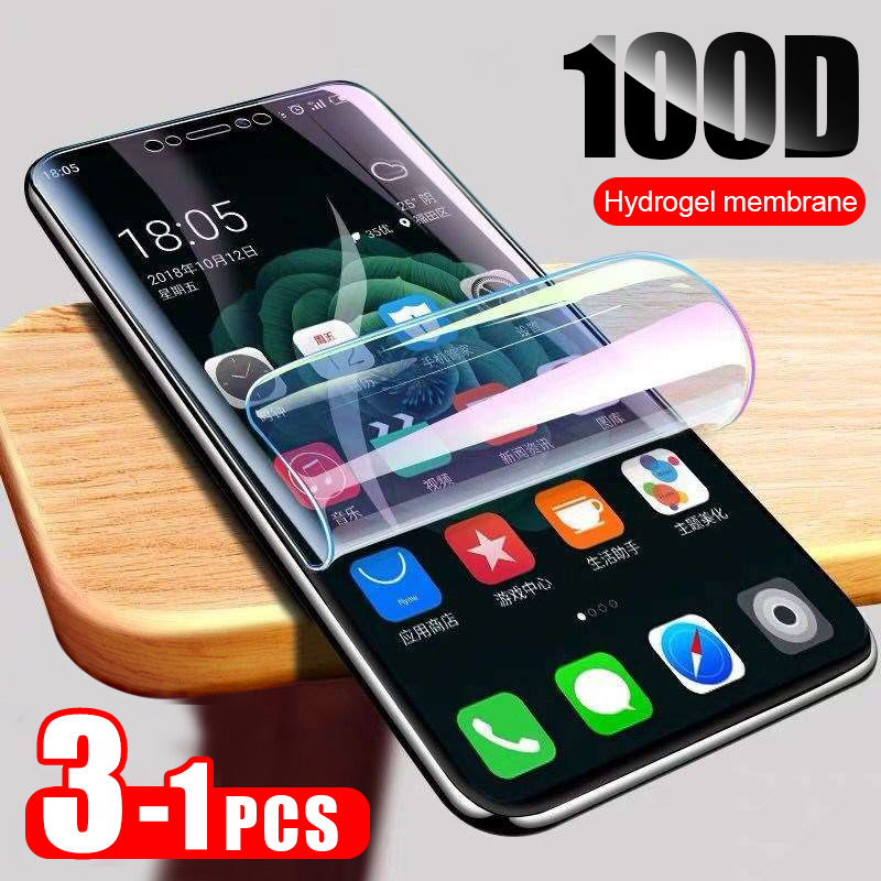 ZNP 3PCS Full Cover Hydrogel Film For Xiaomi Redmi Note 5 7 8 Pro 5 Plus Screen Protector For Redmi 8 8A 7 7A 6 6A 5 Soft Film