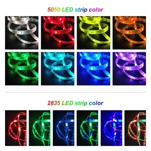 Image 5 - RiRi won tira de luces LED SMD5050 RGB, 5M, 10M, 30LED/m, CC, 12V, cinta de diodo Flexible, impermeable, Juego de adaptadores de controlador de 44 teclas