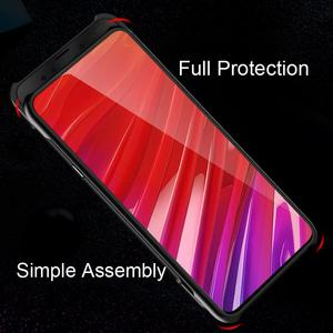 Image 5 - Étui pour lenovo dadsorption magnétique de luxe Z5 Pro couverture verre trempé métal pare chocs étui pour lenovo antichoc Z5 Pro GT couverture