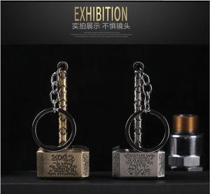 Creativo Thor's Hammer Usb carga encendedor de cigarrillos electrónico sin llama encendedor de cigarrillos antiviento llavero encendedor de fumar