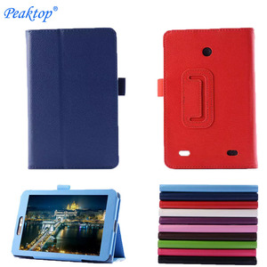 Folio Case Cover For LG G Pad 7.0 V400 V410 7 inch Table Leather Stand Litchi Tablet Case Free Shipping