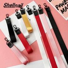 SHELLNAIL твердый мобильный телефон на ремешках для Huawei USB держатель значка DIY веревка для подвешивания брелок ремешок на шею для ключей для теле...