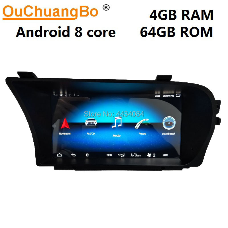 Ouchuangbo audio gps car unit radio for 9.33 mercedes Benz S250 S300 S350 S400 s500 s600 W221 support 4GB+64GB android 9.0 image