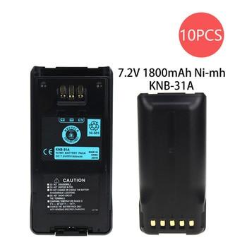 цена на 10X 1800mAh Battery for Kenwood KNB-31A KNB-31 TK-2180 TK-2180K TK-3180 TK-3180K KNB-32 TK-5210 TK-5310 TK-5210K TK-5310K Radios