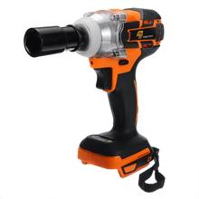 520 N.m Brushless Impact Wrench Driver Tool 1/2'' Cordless Impact Wrench Power Driver Replacement For Makita DTW285Z 18V