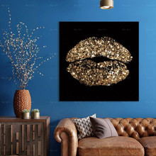 Picture art print Lips Print Poster Wall Art Canvas Painting Picture Living Room Home Decoration Artwork perfume fashion poster eyelash lips makeup print canvas art painting pink flower wall picture modern girl room home decoration