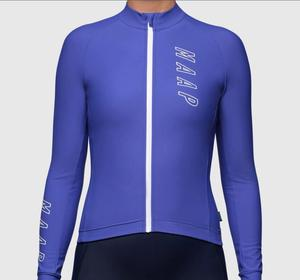 Pro Team MAAP Long sleeve Women's Cycling Jersey MTB Bike Clothing Ropa Ciclismo Racing Long Sleeve bicycle Top Maillot Shirts