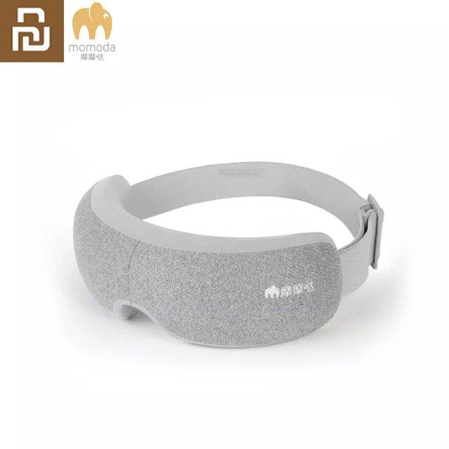 Youpin Momoda 5V 5W 3Modes Rechargeable Folding Eye Massager Graphene Thermostatic Heating Kneading Bluetooth Smart Eye Mask