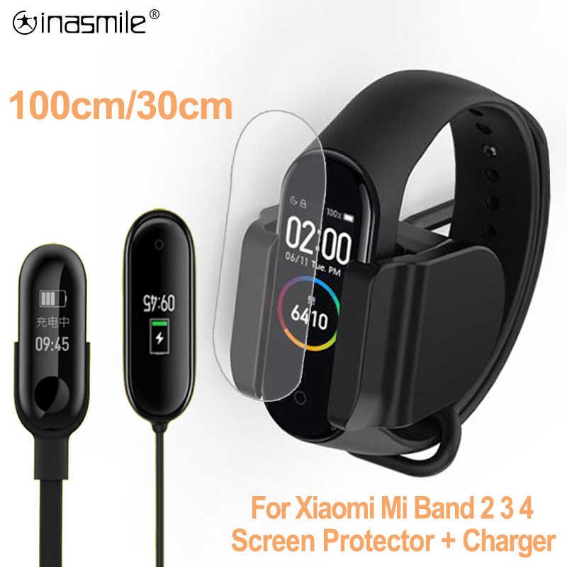 Зарядное устройство для Xiaomi mi Band 4 3 2 зарядное кабель умный Браслет USB зарядки