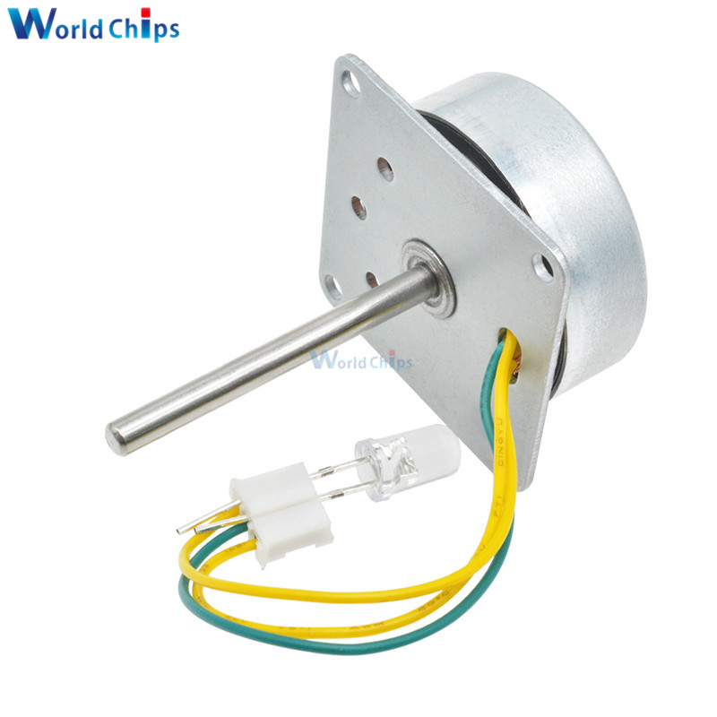 Three-phase 3 Phase <font><b>AC</b></font> Micro <font><b>Brushless</b></font> Generator Mini Wind Hand Generator <font><b>Motor</b></font> With Led Lamp Bead 3-24V DIY For Arduino image