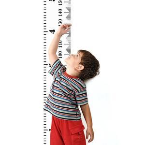 Medidor de crescimento de suspensão do berçário da lona do quadro da altura da parede do gráfico da altura das crianças haste de medição, branco 20cm x 200cm