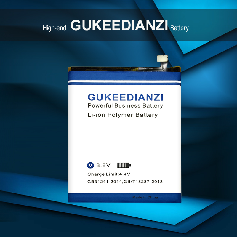 GUKEEDIANZI Mobile Phone Battery For Meizu Meizy M3 Note M681 M681H 4000mAh BT61( M Version) High Quality Replacement Batteries