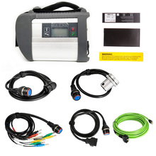 Top Quality MB Star C4 SD Connect with Software New 2020 09V SSD Laptop CF19 work for star diagnosis c4 Diagnostic Tool full kit