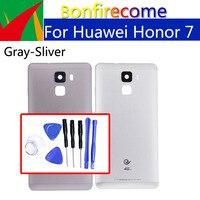 Für Huawei Honor 7 Zurück Batterie Tür Hinten Gehäuse Abdeckung Fall Für Honor7 PLK-AL10 PLK-L01 Chassis Shell-ersatz