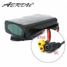 Bloco da bateria 10s2p 7ah 450watt 18650 de aerdu 36v para o skate do scooter bicicleta elétrica 42v 37v 35e xt60 + plugue dc