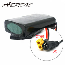 AERDU 36V battery pack 10S2P 7Ah 450Watt 18650 battery pack For Scooter skateboard electric bicycle 42V 37V 35E XT60+DC plug