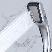 300 отверстия высокого давления душевая головка мощный повышающий спрей для ванной экономии воды под давлением душевая головка аксессуары для ванной комнаты Q4