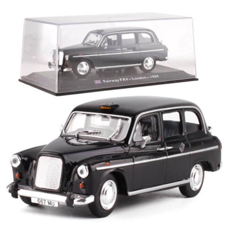 <font><b>1</b></font>:<font><b>43</b></font> Scale Classic Diecast Alloy <font><b>Car</b></font> <font><b>Model</b></font> <font><b>FIAT</b></font> FORD Citroen Cab Taxi Truck Toys Auto Vehicles Gifts for Show Display Collection image