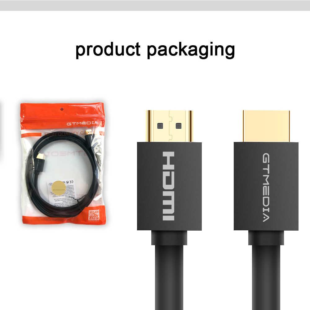 GTMEDIA Cáp HDMI 2.0 dẹt nối dài spliter Switcher cho cáp Ethernet 3D 1080P cho Set-Top hộp PS4 TV DVD Xbox