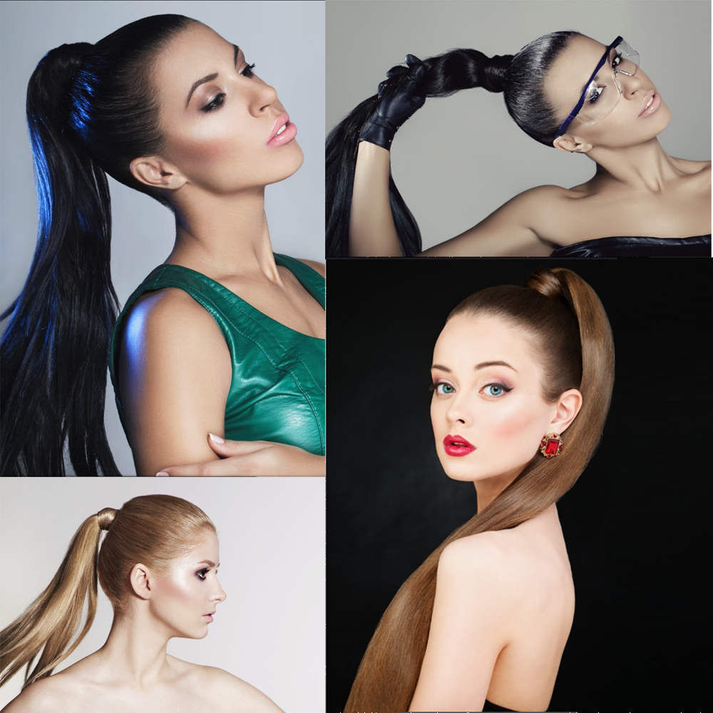 Ponytail hairstyles for over 50