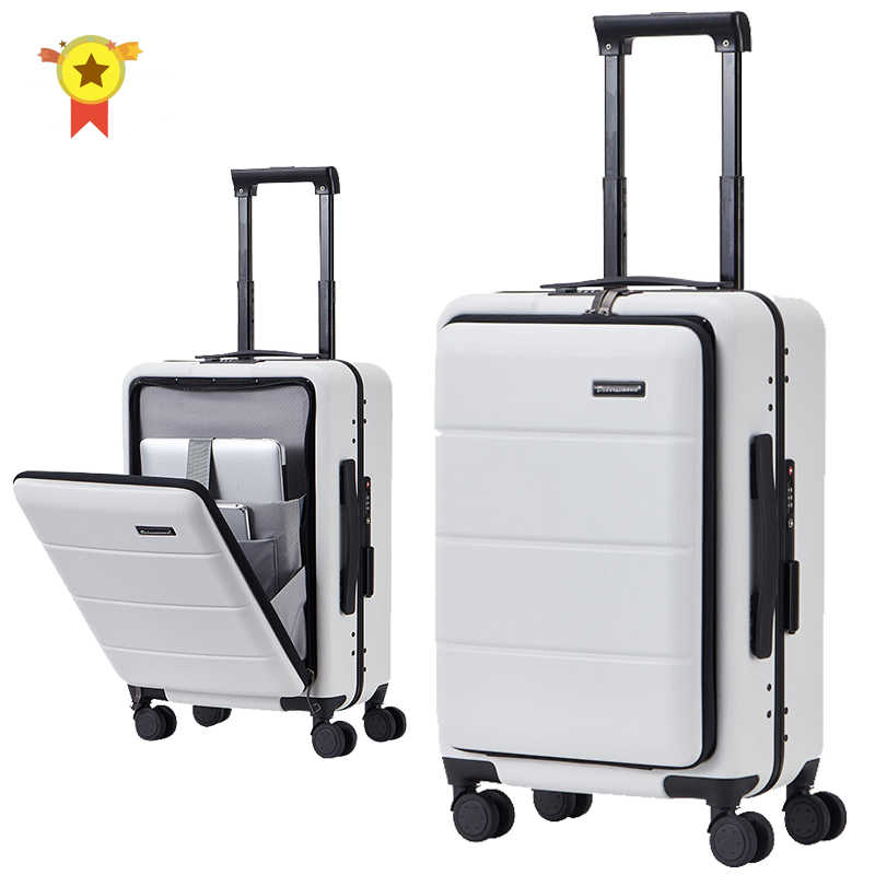 "Nieuwe 20 ""24"" 26 ""Inch Abs + Pc Koffer Tas Shell Vorm Universele Wiel Handbagage rits Frame Travel Case Mode Trolley"