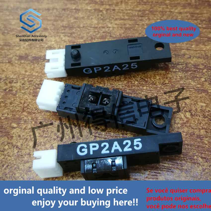 2pcs 100% Orginal New GP2A25 New Reflective Photoelectric Sensor SHARP Within 9mm Real Photo Real Photo