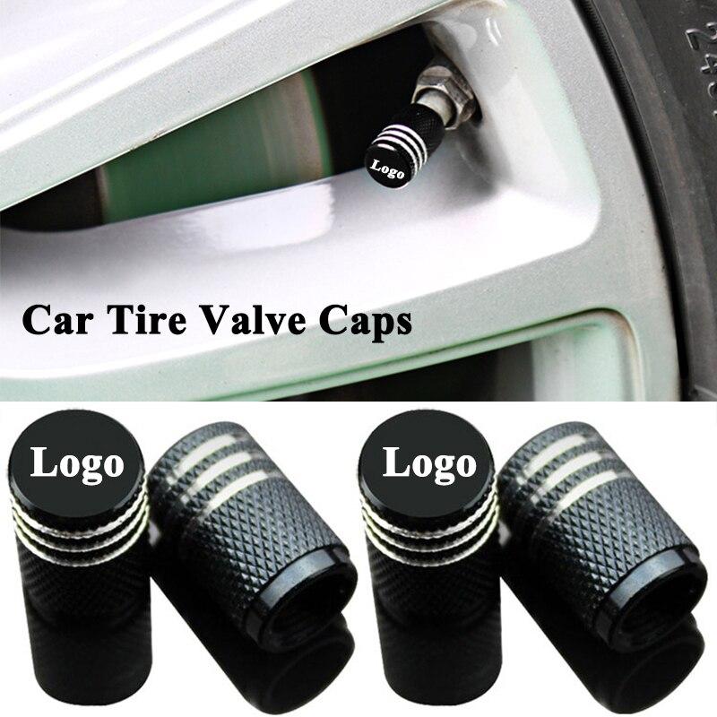 4pcs/set Styling Car Tire Wheel Valve Cap Cover Mouth Accessories for VW Volkswagen Touareg Passat Golf Polo Arteon CC Up Tiguan Valve Stems & Caps Automobiles & Motorcycles - title=