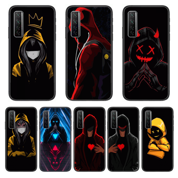 Dark Assassin Style Phone Case For Huawei Nova p10 lite 7 6 5 4 3 Pro i p Smart ZBlack Etui 3D Coque Painting Hoesje image