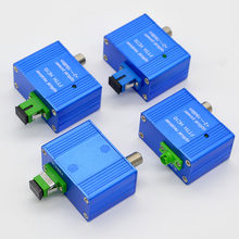 Hot Sell New GEPON FTTH CATV Mini Optical Receiver,Digital TV indoor Optical Receiver Inch F Head With EU Standard Power Supply