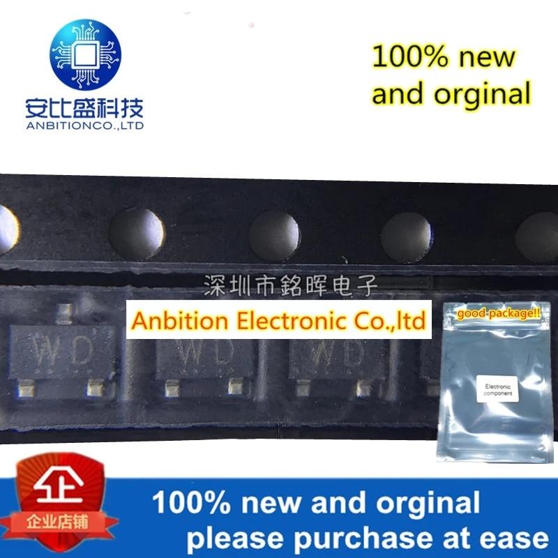 10pcs 100% New And Orginal 2SC5738 Silk-screen WD SOT23 20V 3.5A NPN In Stock