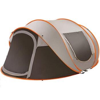 Сверхлегкая большая палатка для кемпинга, 5-8 человек, 220*280*120 см, водонепроницаемая, ветрозащитная, всплывающая, автоматические палатки для к...