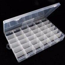 Novo 36 valor componentes eletrônicos armazenamento variedade caixa de ferramentas ajustável caixa de peças caixa de armazenamento multifuncional